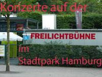 Konzerte auf der Freilichtbühne im Stadtpark Hamburg